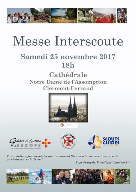 Messe Interscoute @ Cathédrale de Clermont | Clermont-Ferrand | Auvergne-Rhône-Alpes | France